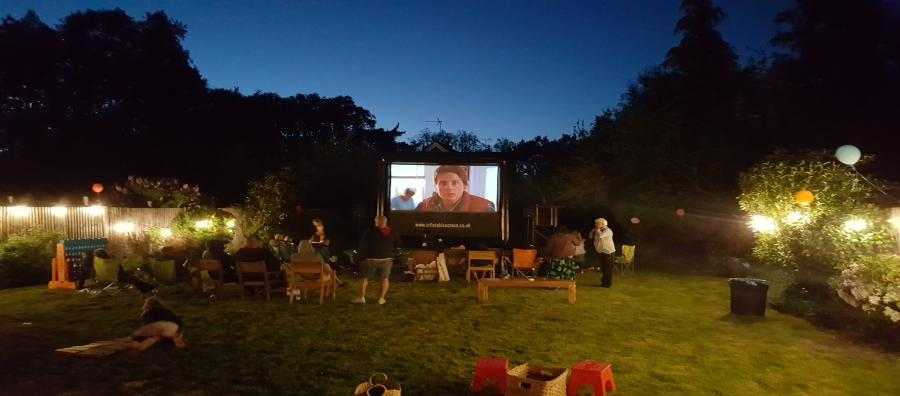 Outdoor cinema hire