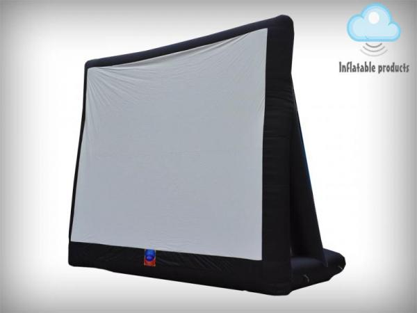 Inflatable projection screen, UK